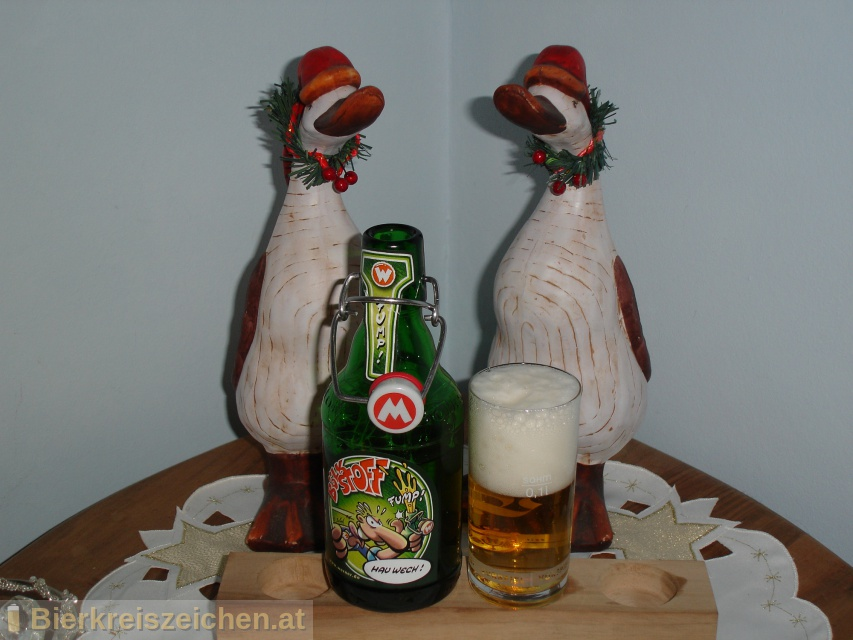 Foto eines Bieres der Marke Bölkstoff aus der Brauerei Flensburger Brauerei