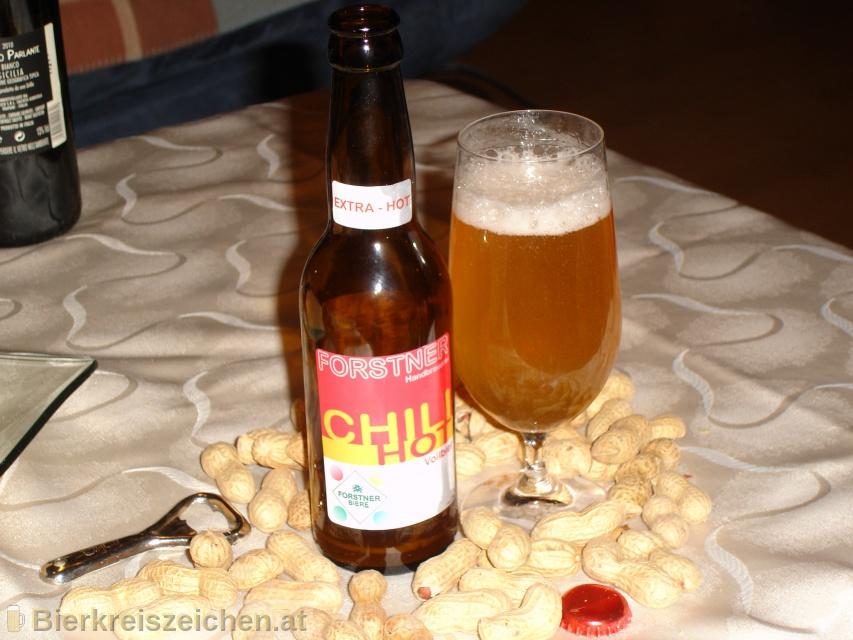 Foto eines Bieres der Marke Chili Hotbeer aus der Brauerei Handbrauerei Gerhard Forstner