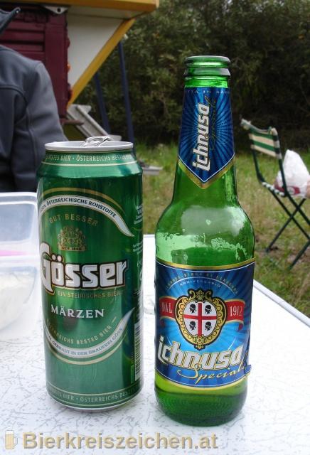 Foto eines Bieres der Marke Birra Ichnusa Speciale aus der Brauerei Birra Ichnusa