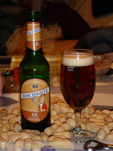 Foto eines Bieres der Marke Raschhofer Alt - Bierreise Deutschland aus der Brauerei Brauerei Raschhofer