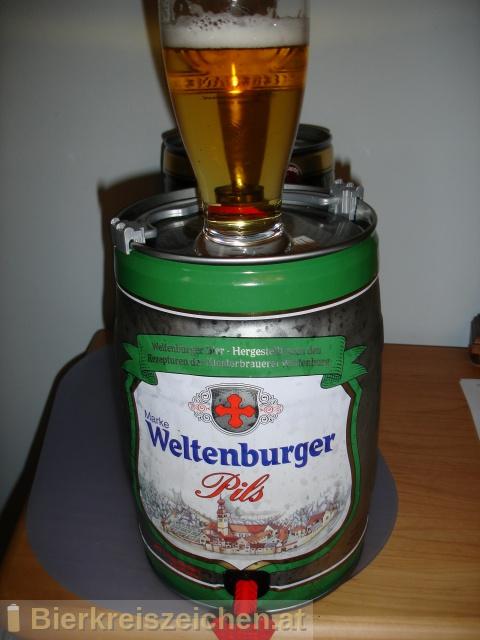 Foto eines Bieres der Marke Weltenburger - Pils aus der Brauerei Brauerei Bischofshof e.K.
