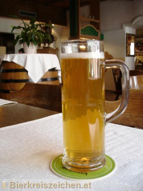Foto eines Bieres der Marke A-Bier aus der Brauerei Brauerei Attersee