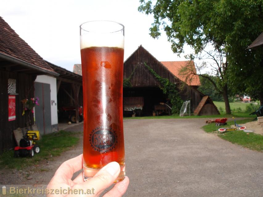 Foto eines Bieres der Marke Pockbier - Standard aus der Brauerei Landwerkstatt und Genusslabor - Georg Pock