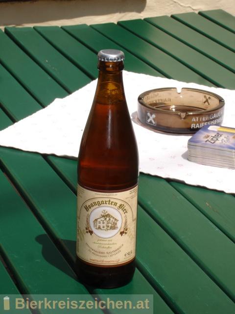Foto eines Bieres der Marke Hoangartenbier aus der Brauerei Brauerei Kaltenböck