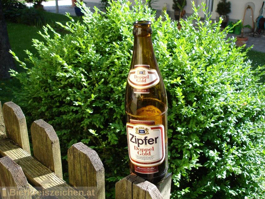 Foto eines Bieres der Marke Zipfer Doppelgold aus der Brauerei Brauerei Zipf