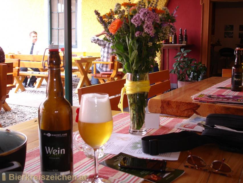 Foto eines Bieres der Marke Weinbier aus der Brauerei diebrauerei Leutschach GmbH