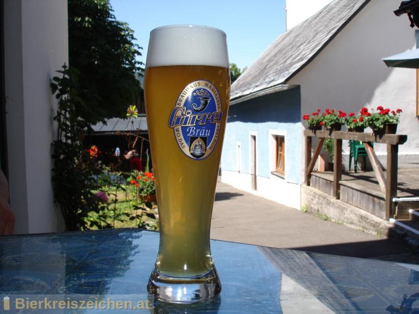 Foto eines Bieres der Marke Zeller Gold aus der Brauerei Girrer Bräu - Wirtshausbrauerei Mariazell