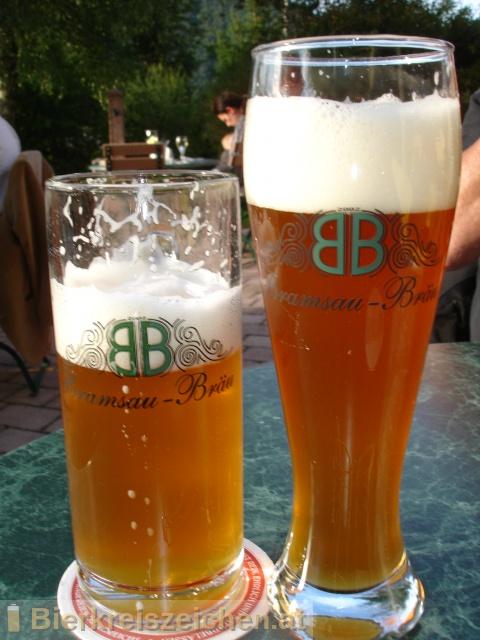 Foto eines Bieres der Marke Faistenauer Gerstl aus der Brauerei Familie Weissenbacher - Bramsau-Bräu