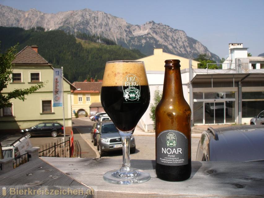 Foto eines Bieres der Marke Noar aus der Brauerei Erzbergbräu