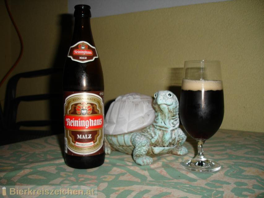 Foto eines Bieres der Marke Reininghaus Malz aus der Brauerei Brauerei Puntigam