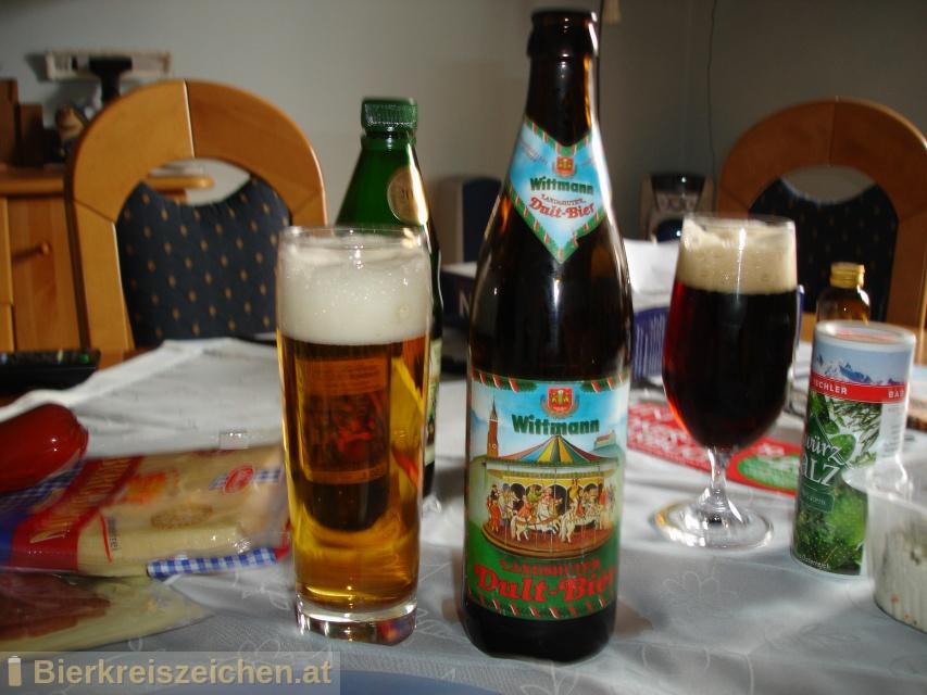 Foto eines Bieres der Marke Wittmann Dultbier aus der Brauerei Brauerei Wittmann