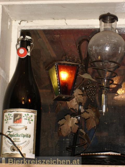 Foto eines Bieres der Marke Söhnstetter Zwickelpils aus der Brauerei Hirschbrauerei Söhnstetten