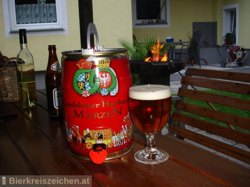 Foto eines Bieres der Marke Wittmann Landshuter Hochzeits Märzen (LAHO) aus der Brauerei Brauerei Wittmann