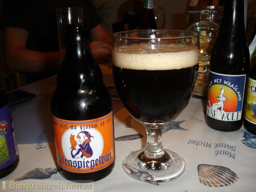 Foto eines Bieres der Marke Uilenspiegelbier Strong Dark Ale aus der Brauerei Brouwerij Van Steenberge
