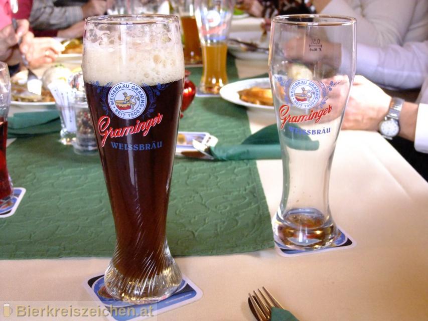 Foto eines Bieres der Marke Graminger Kirta aus der Brauerei Graminger Weissbräu