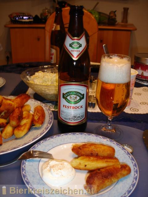 Foto eines Bieres der Marke Grieskirchner Festbock aus der Brauerei Brauerei Grieskirchen