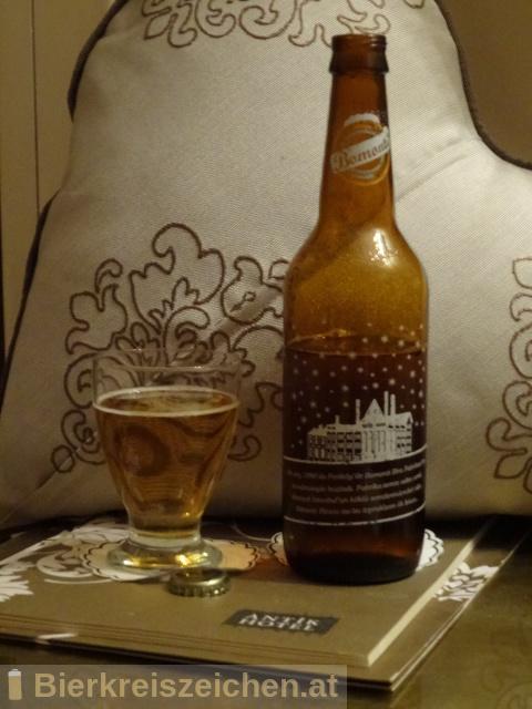 Foto eines Bieres der Marke Bomonti aus der Brauerei Anadolu Efes