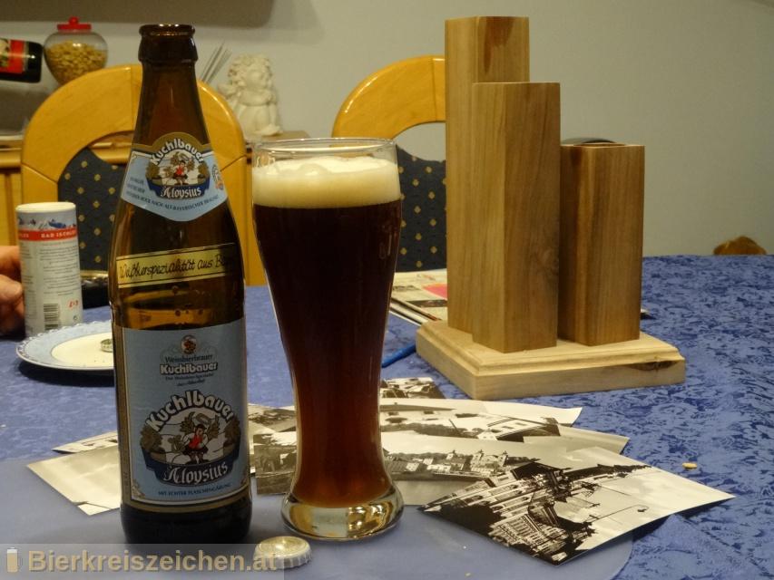 Foto eines Bieres der Marke Kuchlbauer Aloysius - Weissbierbock aus der Brauerei Kuchlbauer