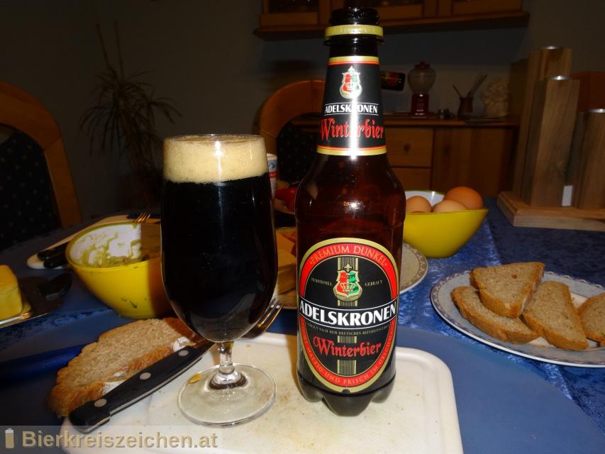 Foto eines Bieres der Marke Adelskronen Winterbier aus der Brauerei Frankfurter Brauhaus