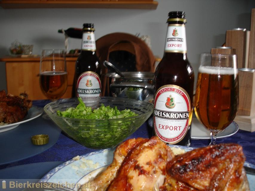 Foto eines Bieres der Marke Adelskronen Export aus der Brauerei Brauerei Braunschweig