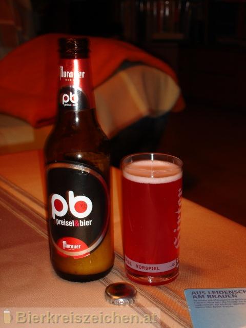 Foto eines Bieres der Marke Murauer pb - preisel&bier aus der Brauerei Brauerei Murau