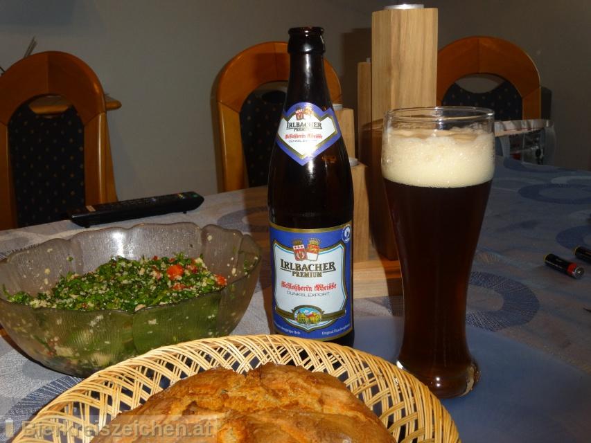Foto eines Bieres der Marke Irlbacher Premium Schlossherrn Weisse aus der Brauerei Schlossbrauerei Irlbach