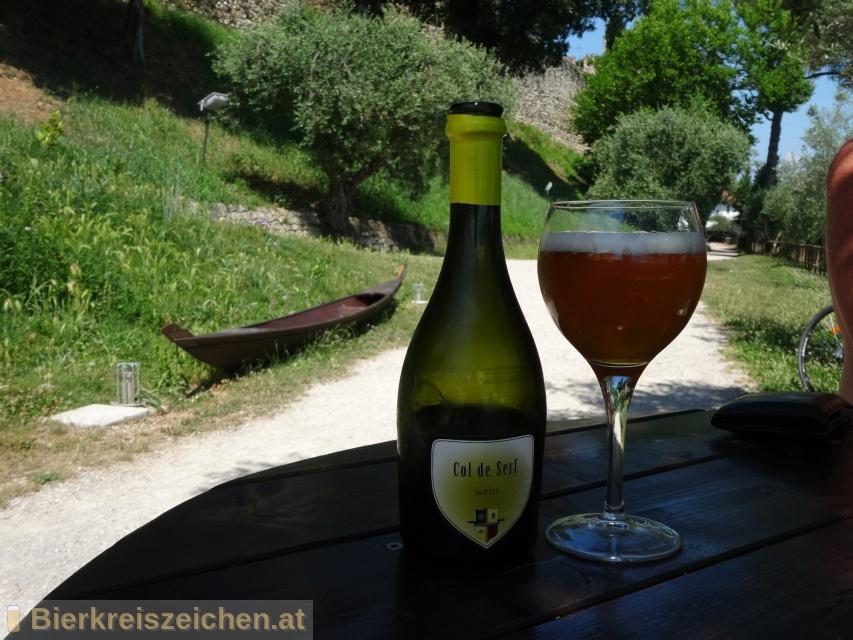 Foto eines Bieres der Marke COL DE SERF - weiss aus der Brauerei Birrificio F.lli Trami