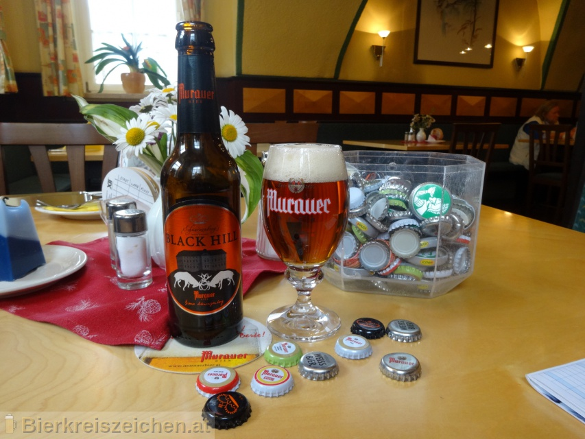 Foto eines Bieres der Marke Murauer Black Hill aus der Brauerei Brauerei Murau