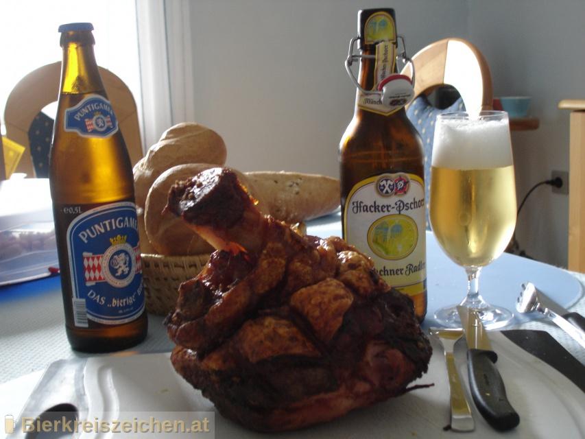 Foto eines Bieres der Marke Hacker Pschorr Münchner Radler aus der Brauerei Hacker-Pschorr