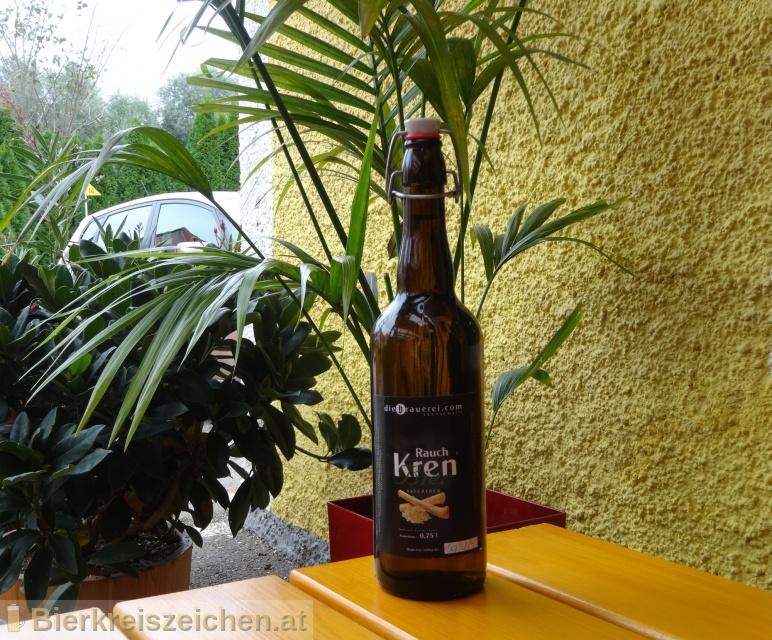 Foto eines Bieres der Marke Rauch Kren Bier aus der Brauerei diebrauerei Leutschach GmbH