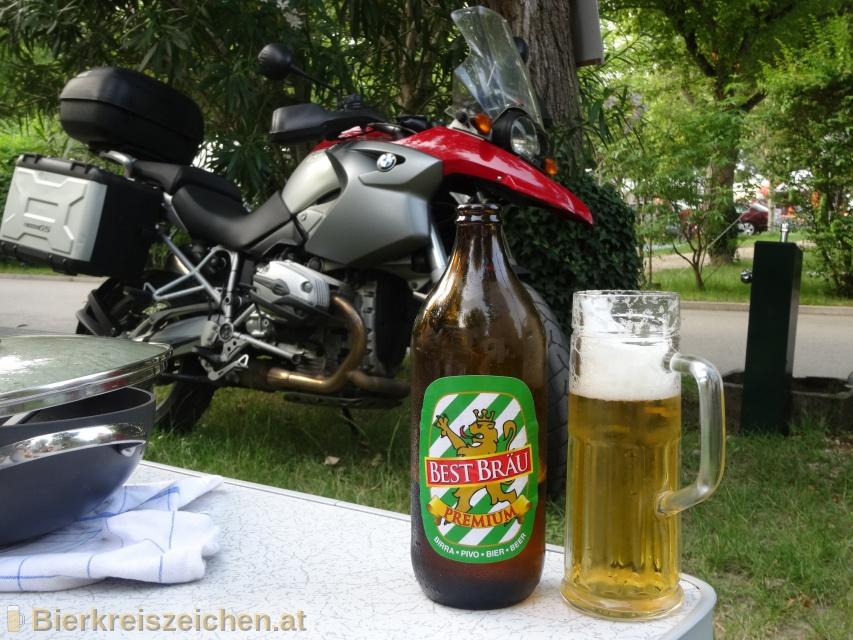 Foto eines Bieres der Marke Best Bräu Premium aus der Brauerei Pivoarna Union d.d.