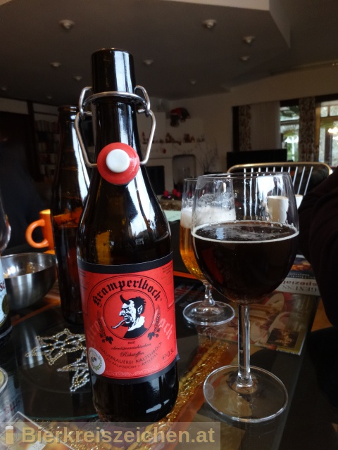 Foto eines Bieres der Marke Kramperlbock aus der Brauerei Brauerei Kaltenböck