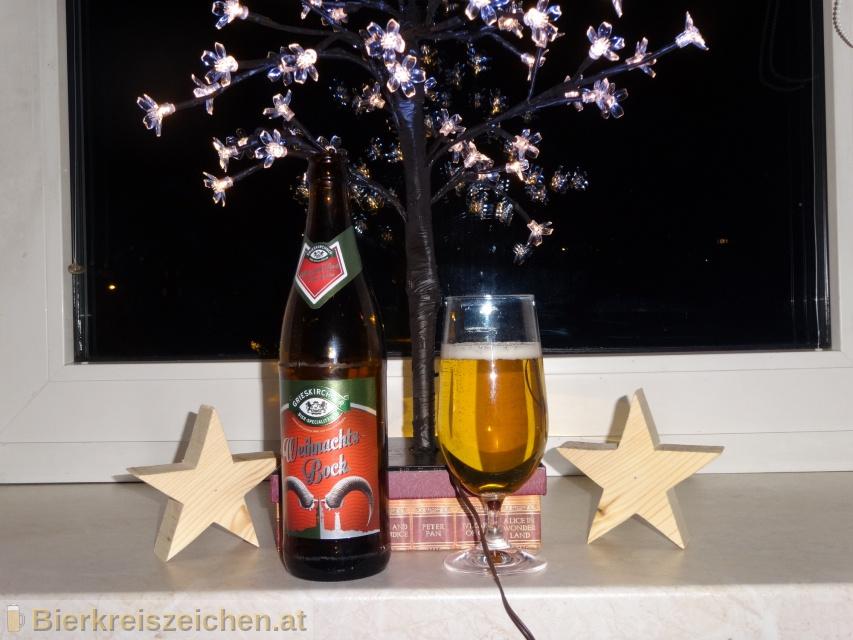 Foto eines Bieres der Marke Grieskirchner Weihnachtsbock aus der Brauerei Brauerei Grieskirchen