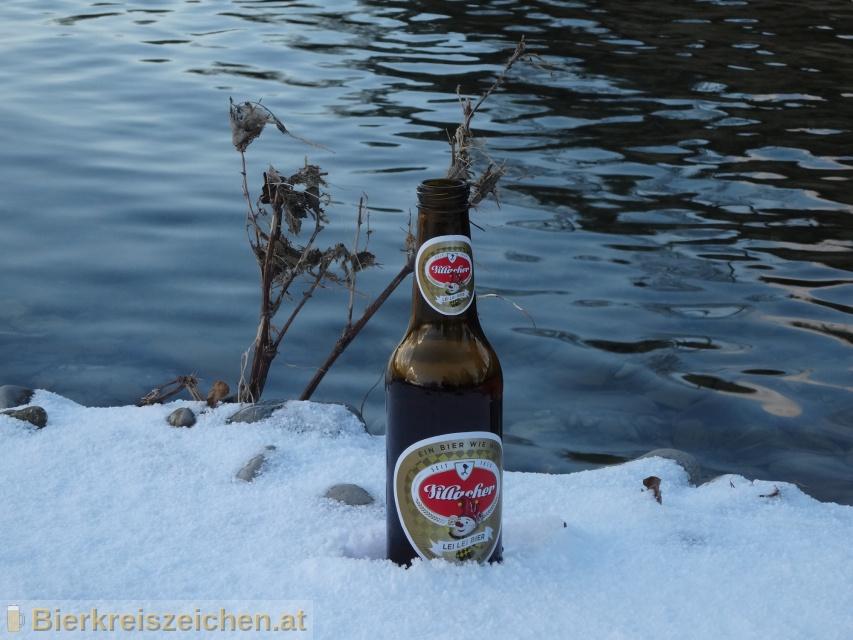 Foto eines Bieres der Marke Villacher Lei Lei Bier aus der Brauerei Villacher Brauerei