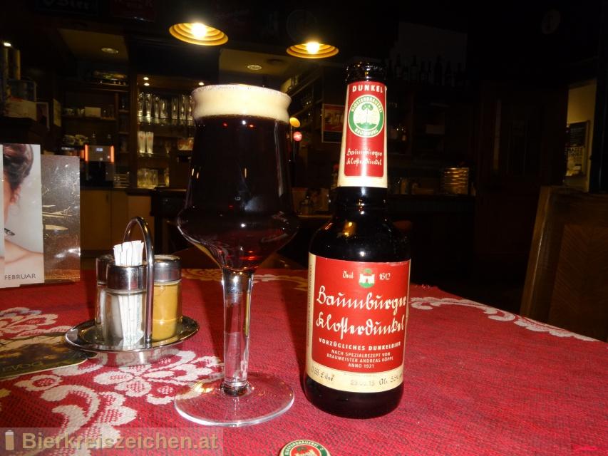 Foto eines Bieres der Marke Baumburger Bio Klosterdunkel aus der Brauerei Klosterbrauerei Baumburg