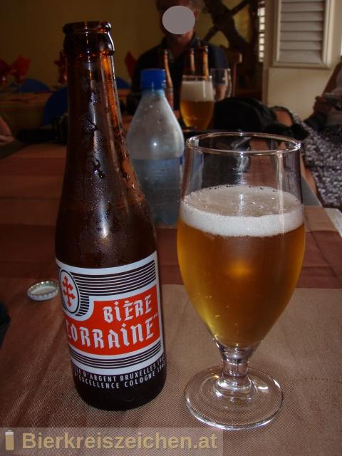 Foto eines Bieres der Marke Bière Lorraine aus der Brauerei Brasserie Lorraine SA