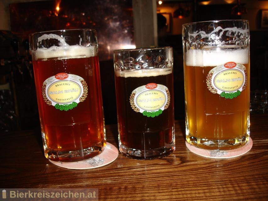 Foto eines Bieres der Marke Salm Bräu Böhmisch G´mischt aus der Brauerei Salm Bräu GmbH