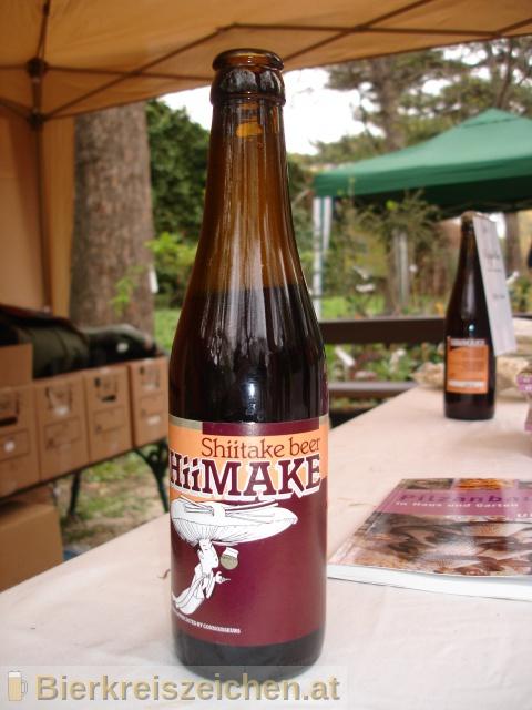 Foto eines Bieres der Marke Shiimake aus der Brauerei Mycelia