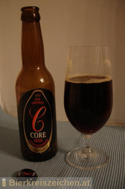"""Foto eines Bieres der Marke Core Beer aus der Brauerei Zakłady Piwowarskie """"Głubczyce"""" S.A."""