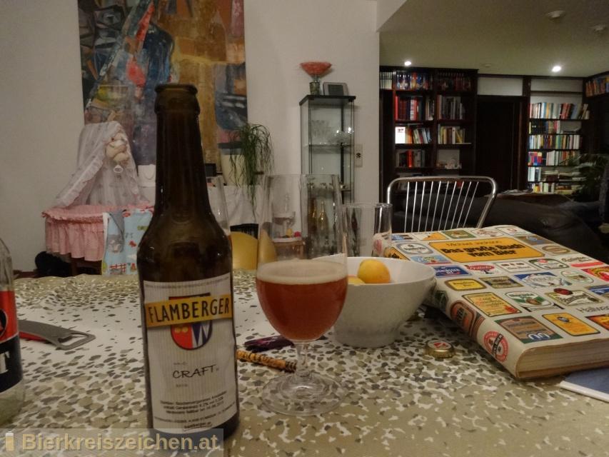 Foto eines Bieres der Marke Flamberger Craft aus der Brauerei Brauerei Flamberger