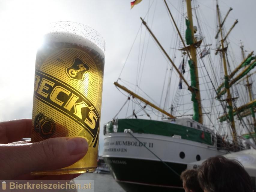 Foto eines Bieres der Marke Beck's Pils aus der Brauerei Brauerei Beck