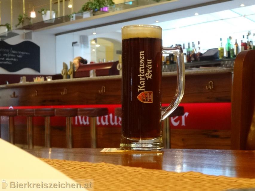 Foto eines Bieres der Marke Helles Priorenbräu aus der Brauerei Kartausenbräu
