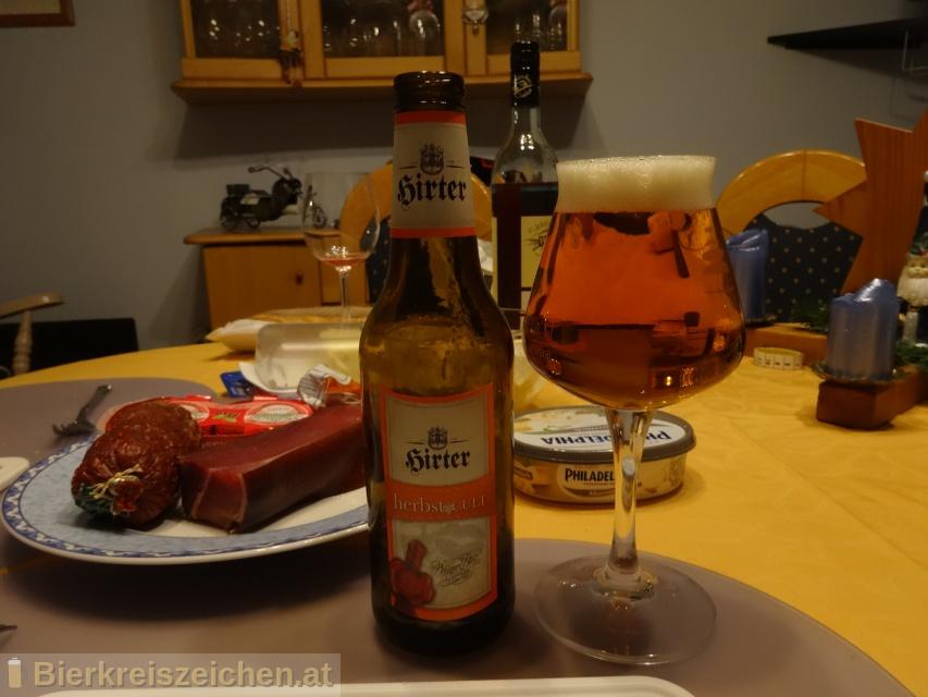 Foto eines Bieres der Marke Hirter herbstCULT aus der Brauerei Brauerei Hirt