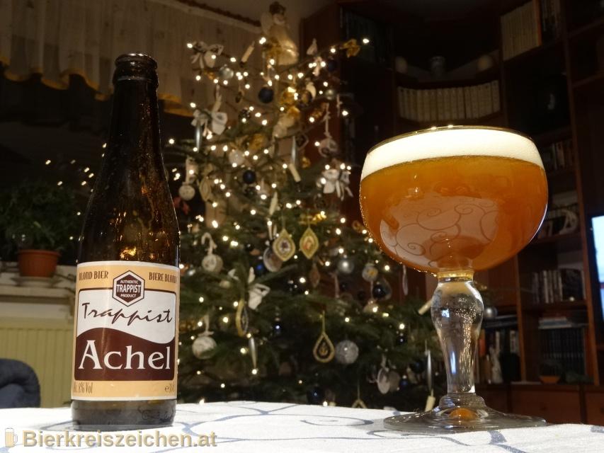 Foto eines Bieres der Marke Achel Blond 5° aus der Brauerei Achel
