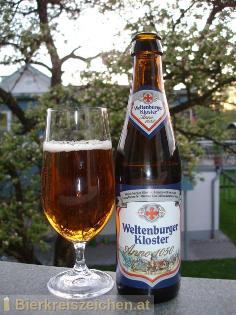 Foto eines Bieres der Marke Weltenburger - Anno 1050 aus der Brauerei Brauerei Bischofshof e.K.