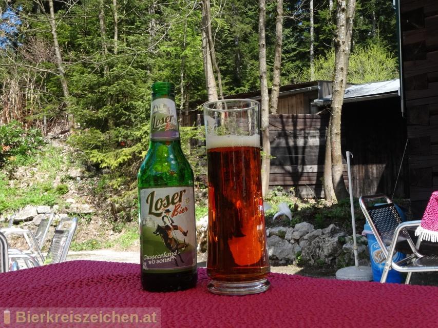 Foto eines Bieres der Marke Loser Bier aus der Brauerei Brauerei Grieskirchen