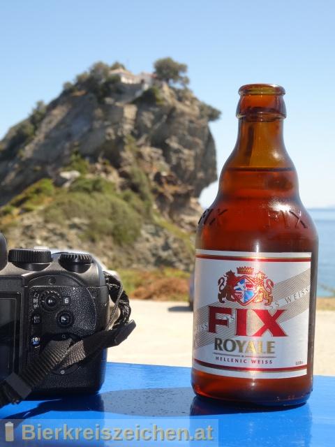 Foto eines Bieres der Marke FIX Royale aus der Brauerei Olympic Brewery