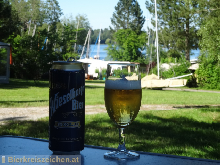 Foto eines Bieres der Marke Wieselburger Gold aus der Brauerei Brauerei Wieselburg