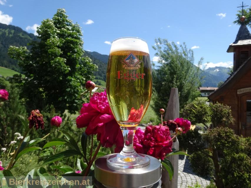 Foto eines Bieres der Marke Egger Spezial Bier aus der Brauerei Brauerei Egg