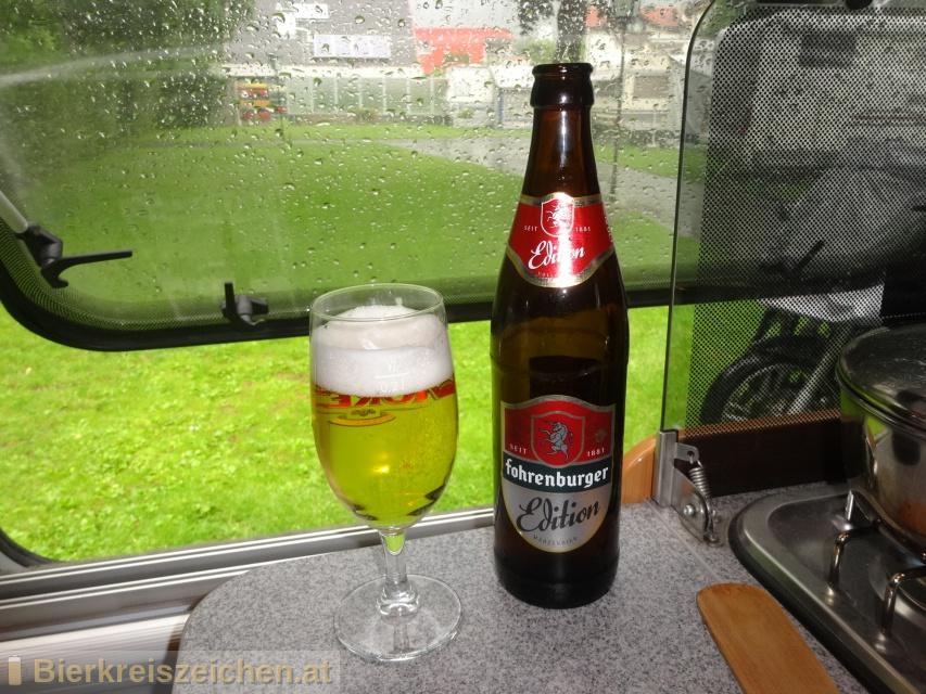 Foto eines Bieres der Marke Fohrenburger Edition aus der Brauerei Fohrenburger